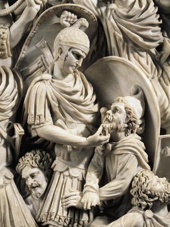 Grande Ludovisi Sarcophagus--Framed Giclee Print