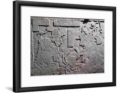 Heir to Throne of Pakal Great--Framed Giclee Print