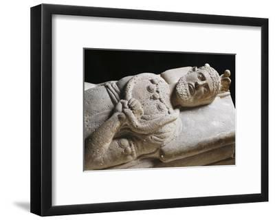 Sarcophagus of Senior Magistrate Wearing Necklace with Pendants--Framed Giclee Print