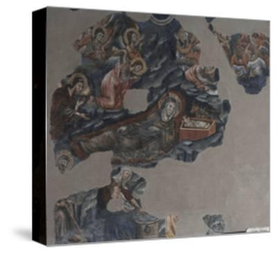Nativity of Jesus Attributed to Montano D'Arezzo--Stretched Canvas Print