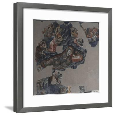 Nativity of Jesus Attributed to Montano D'Arezzo--Framed Giclee Print