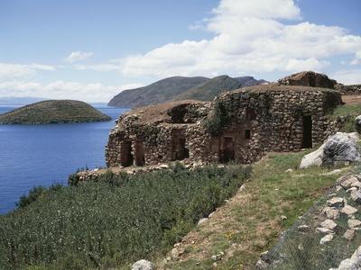 Ruins of Pilco Kaina Temple Dedicated to Sun God--Framed Giclee Print