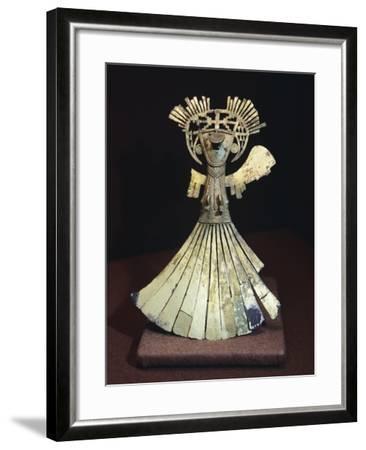 Gold Breastplate Depicting a Female Figure Ornament--Framed Giclee Print