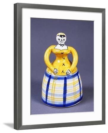 Table Bell in the Shape of a Woman from the Region of Toledo--Framed Giclee Print