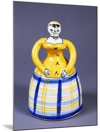 Table Bell in the Shape of a Woman from the Region of Toledo--Mounted Giclee Print