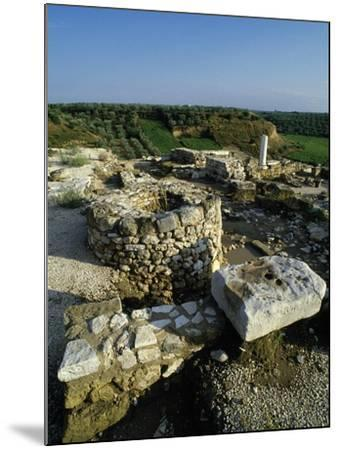 View of the Archaeological Site of Early Christian Basilicas--Mounted Giclee Print