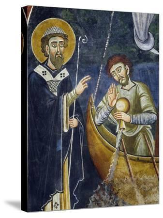 Saint Nicholas Saving Pilgrims from Shipwreck--Stretched Canvas Print