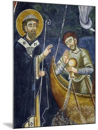 Saint Nicholas Saving Pilgrims from Shipwreck--Mounted Giclee Print