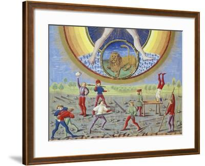 The Sun and Different Physical and Sporting Endeavours--Framed Giclee Print