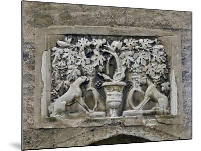 Detail of Roman Relief with Vines and Panthers--Mounted Giclee Print