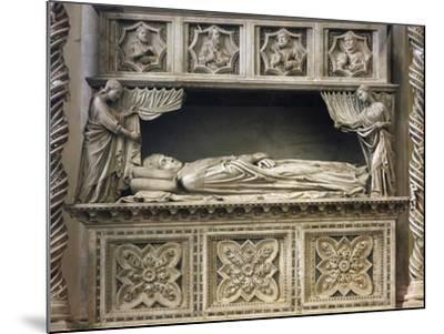 Marble Sepulchral Monument of Pope Benedict XI--Mounted Giclee Print