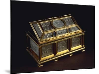Rock Crystal and Enameled Silver-Gilt Coffer--Mounted Giclee Print