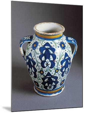 Two-Handled Bulbous Jug Decorated with Persian Palmettes--Mounted Giclee Print