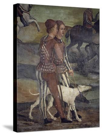 Hunting Party Organized in King Christian of Denmark's Honor by Bartolomeo Colleoni--Stretched Canvas Print