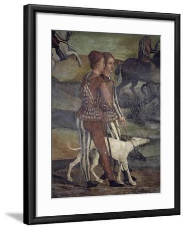 Hunting Party Organized in King Christian of Denmark's Honor by Bartolomeo Colleoni--Framed Giclee Print