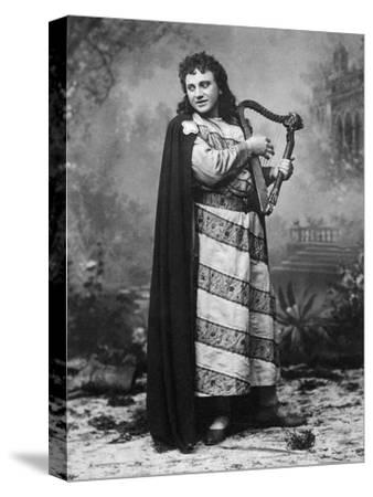 Tenor Dezso or Desider Matray in Role of Tannhauser in Homonymous Opera--Stretched Canvas Print