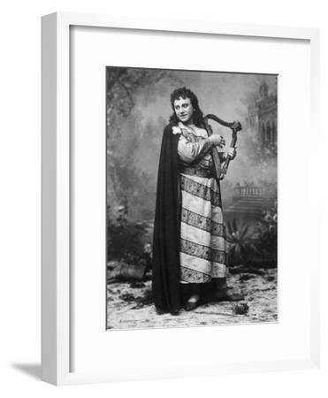 Tenor Dezso or Desider Matray in Role of Tannhauser in Homonymous Opera--Framed Giclee Print