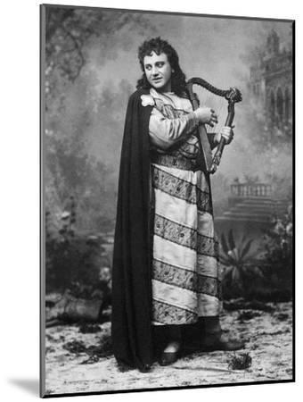 Tenor Dezso or Desider Matray in Role of Tannhauser in Homonymous Opera--Mounted Giclee Print