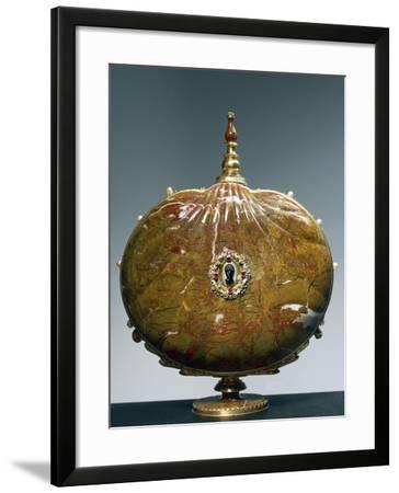 Flask Once Belonging to Catherine De Medici with Medallion Depicting Moor's Head--Framed Giclee Print