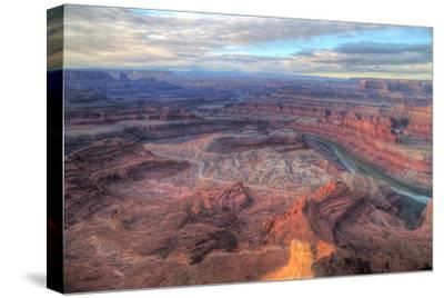 Grand Vista, Dead Horse Point, Southern Utah-Vincent James-Stretched Canvas Print