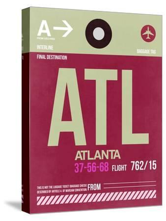ATL Atlanta Luggage Tag 2-NaxArt-Stretched Canvas Print