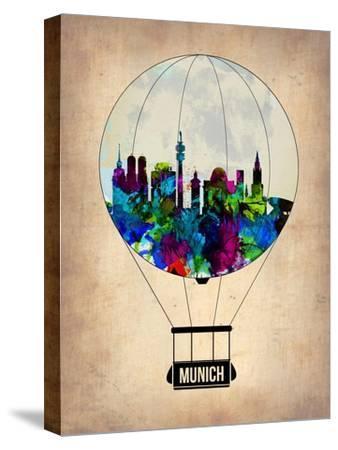Munich Air Balloon-NaxArt-Stretched Canvas Print