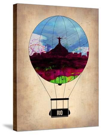Rio Air Balloon-NaxArt-Stretched Canvas Print