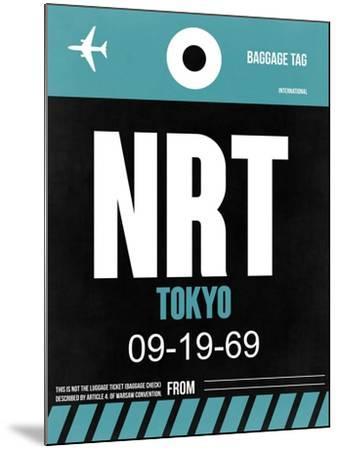 NRT Tokyo Luggage Tag 2-NaxArt-Mounted Art Print