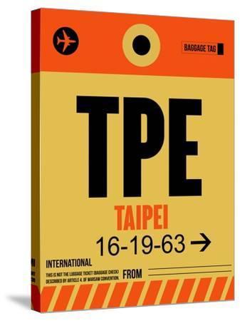 TPE Taipei Luggage Tag 2-NaxArt-Stretched Canvas Print