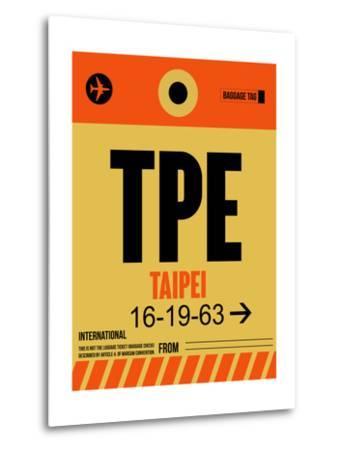 TPE Taipei Luggage Tag 2-NaxArt-Metal Print