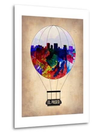El Paseo Air Balloon-NaxArt-Metal Print