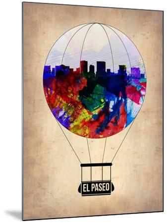 El Paseo Air Balloon-NaxArt-Mounted Art Print