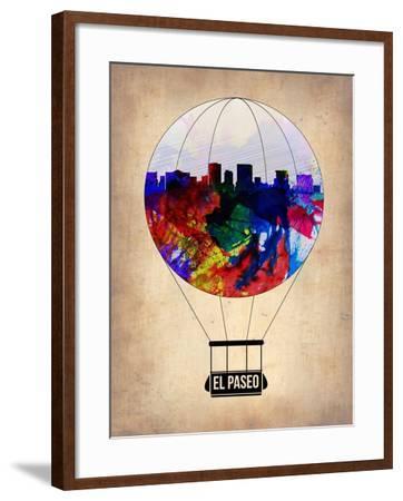 El Paseo Air Balloon-NaxArt-Framed Art Print