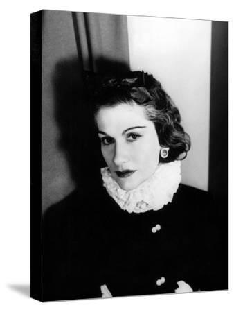 Coco Chanel--Stretched Canvas Print
