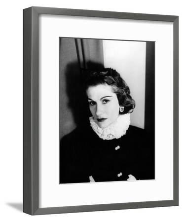 Coco Chanel--Framed Photo