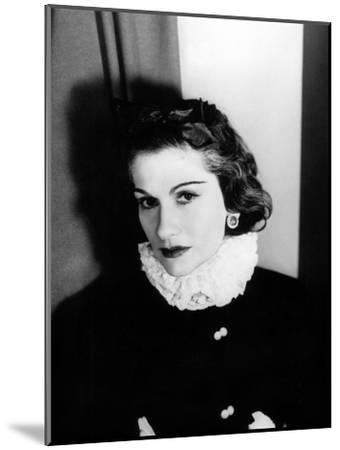 Coco Chanel--Mounted Photo