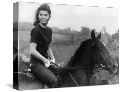 Jackie Kennedy--Stretched Canvas Print