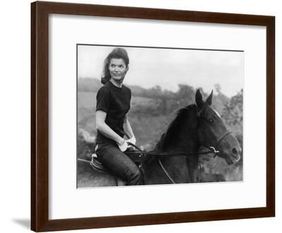 Jackie Kennedy--Framed Photo