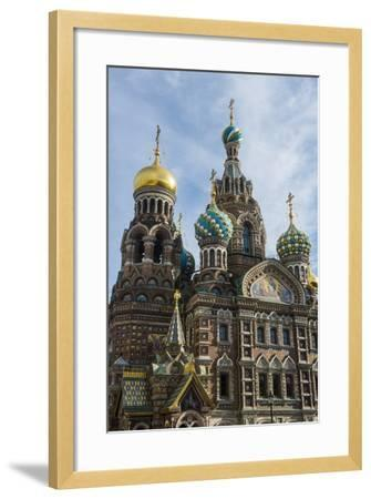 Church of the Saviour on Spilled Blood, UNESCO World Heritage Site, St. Petersburg, Russia, Europe-Michael Runkel-Framed Photographic Print