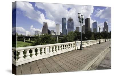 City Skyline, Houston, Texas, United States of America, North America-Gavin-Stretched Canvas Print