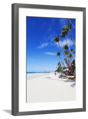 White Beach, Boracay Island, the Visayas, Philippines, Southeast Asia-Christian-Framed Photographic Print