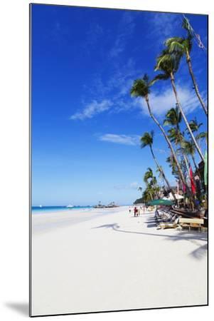 White Beach, Boracay Island, the Visayas, Philippines, Southeast Asia-Christian-Mounted Photographic Print