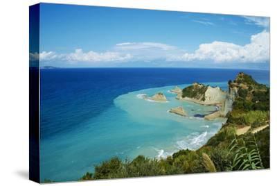 Drastis Cape Near Sidari Village. Corfu, Ionian Islands, Greek Islands, Greece, Europe-Tuul-Stretched Canvas Print