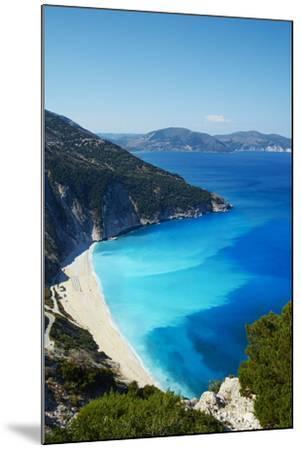 Myrtos Beach, Cephalonia, Ionian Islands, Greek Islands, Greece, Europe-Tuul-Mounted Photographic Print