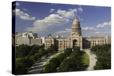 State Capital Building, Austin, Texas, United States of America, North America-Gavin-Stretched Canvas Print