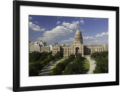 State Capital Building, Austin, Texas, United States of America, North America-Gavin-Framed Photographic Print