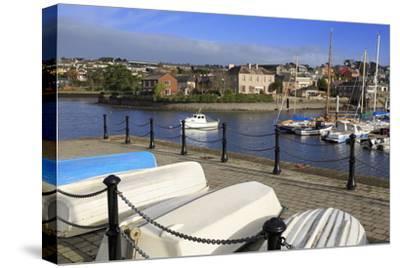 Yacht Marina, Kinsale Town, County Cork, Munster, Republic of Ireland, Europe- Richard-Stretched Canvas Print
