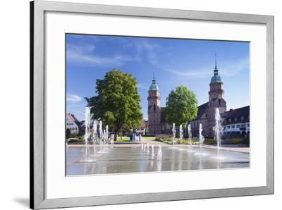 Fountains-Markus Lange-Framed Photographic Print