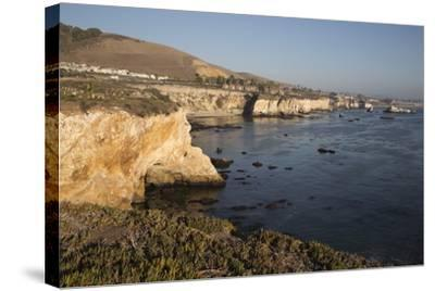 Rocky Coastline Looking Towards Pismo Beach-Stuart-Stretched Canvas Print