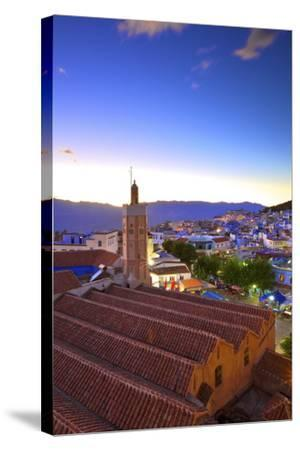 Chefchaouen, Morocco, North Africa, Africa-Neil-Stretched Canvas Print